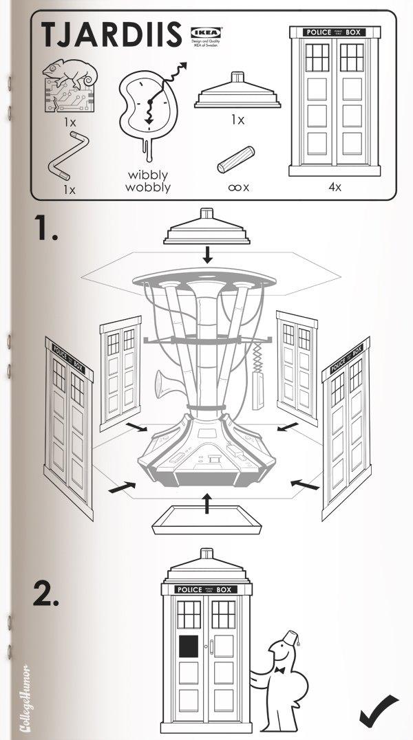 Popped Culture: Sci Fi Ikea Manuals