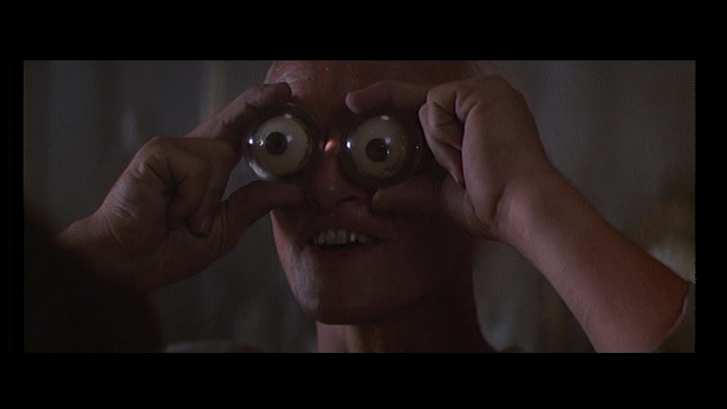 Blade Runner 1982 film ridley scott harrison ford sci fi philip K dick rutger hauer googly silly eyes