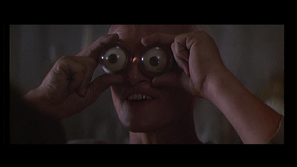 Blade Runner 1982 film ridley scott harrison ford sci fi philip K dick rutger hauer googly silly eyes