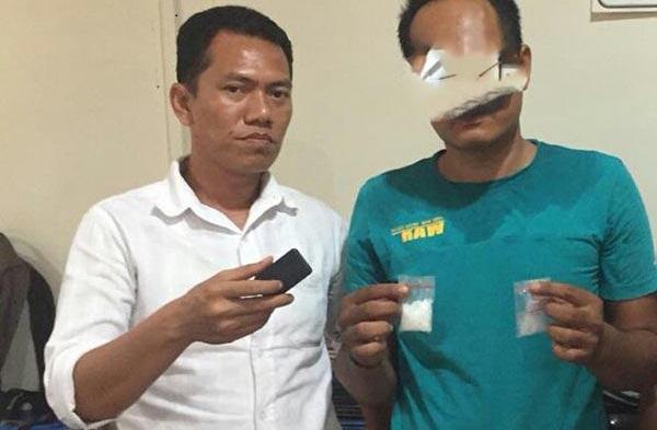 Satres Narkoba Polrestabes Medan Tangkap Pengedar Narkotika