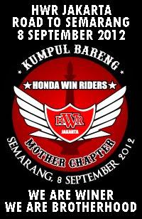HONDA WIN RIDERS JAKARTA ROAD TO SEMARANG