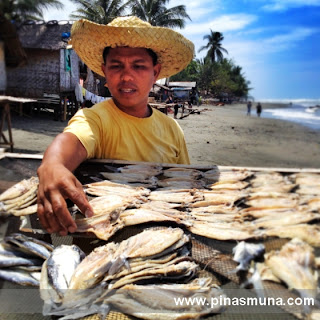 Producer of bangsi flying fish in Maitum Sarangani