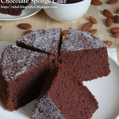 Resepi Kek Span Coklat Satu Resepi