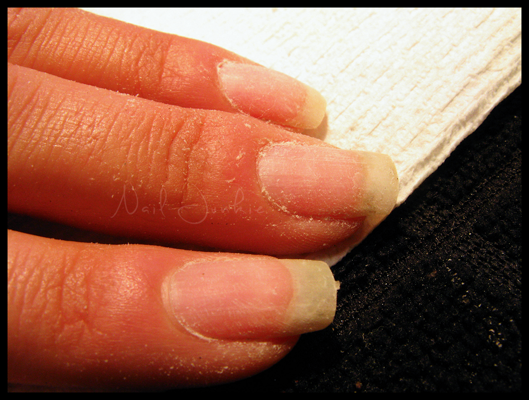 nail junkie how to properly safely remove acrylic nails
