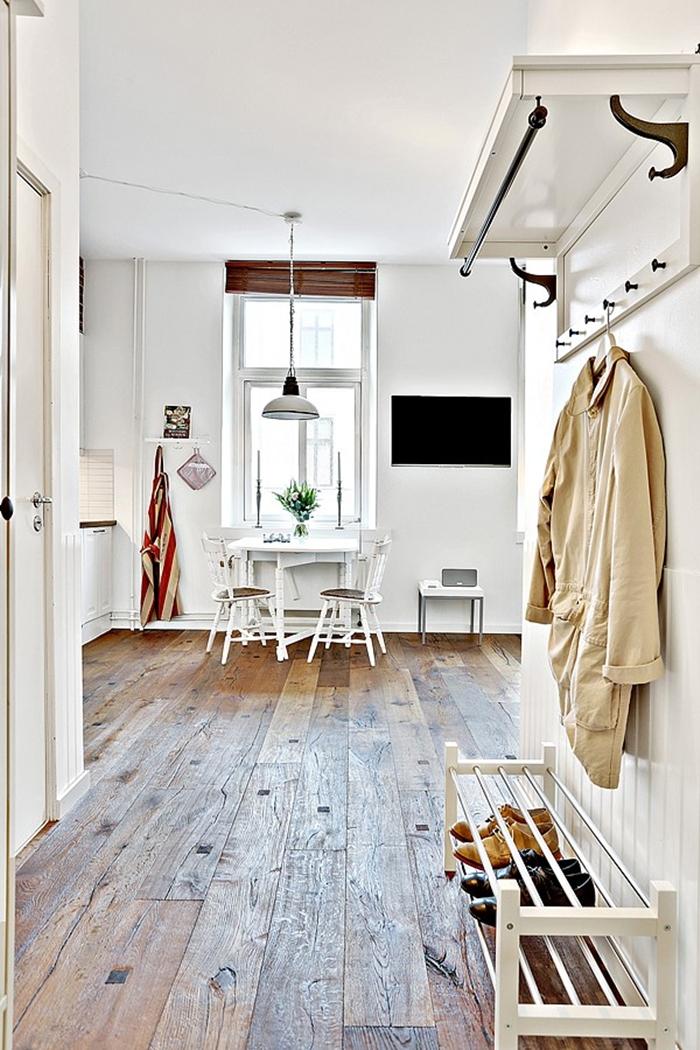 Sweet harmonie apartamento de 30m2 de estilo nordico for Decoracion monoambiente 30m2