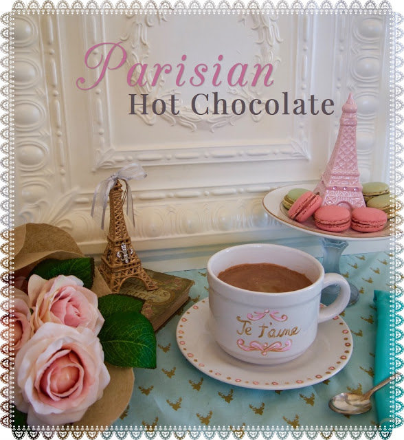 French Hot Chocolate for Valentine's