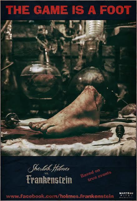 Sherlock Holmes vs Frankenstein poster