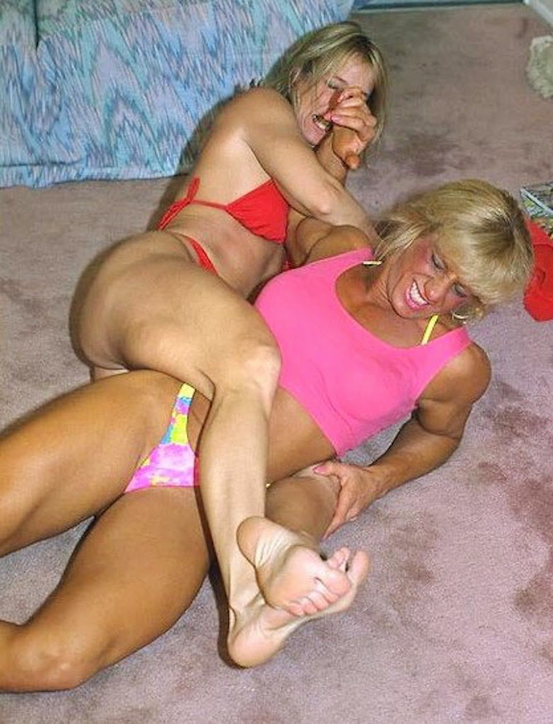 Can living room wrestling mature women about such
