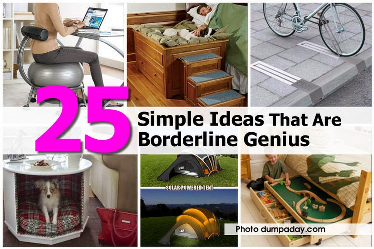 DIY All Things: 25 Great Ideas That Are Borderline Genius