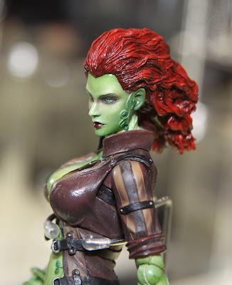 Square Enix Play Arts 2013 Toy Fair Display - Arkham City Poison Ivy figure