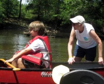 Paddling the Ogeechee in June