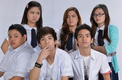 The new cast of LUV U: Sharlene San Pedro, Nash Aguas, Alexa Ilacad, Jairus Aquino, Mika dela Cruz and Kobi Vidanes