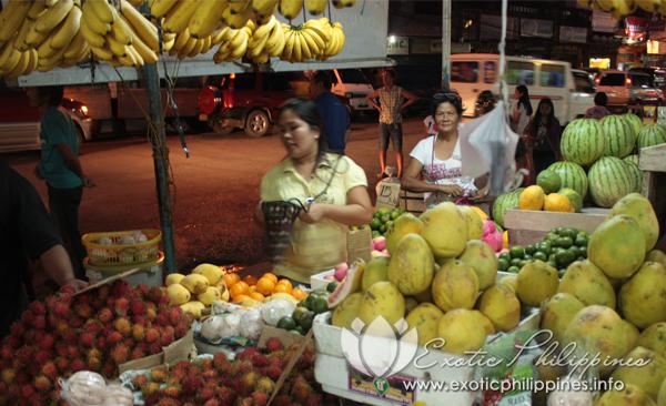 Fruit Market Davao City Philippines