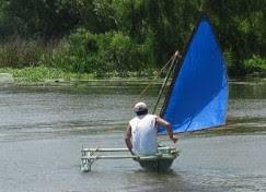 8 footer sailing!