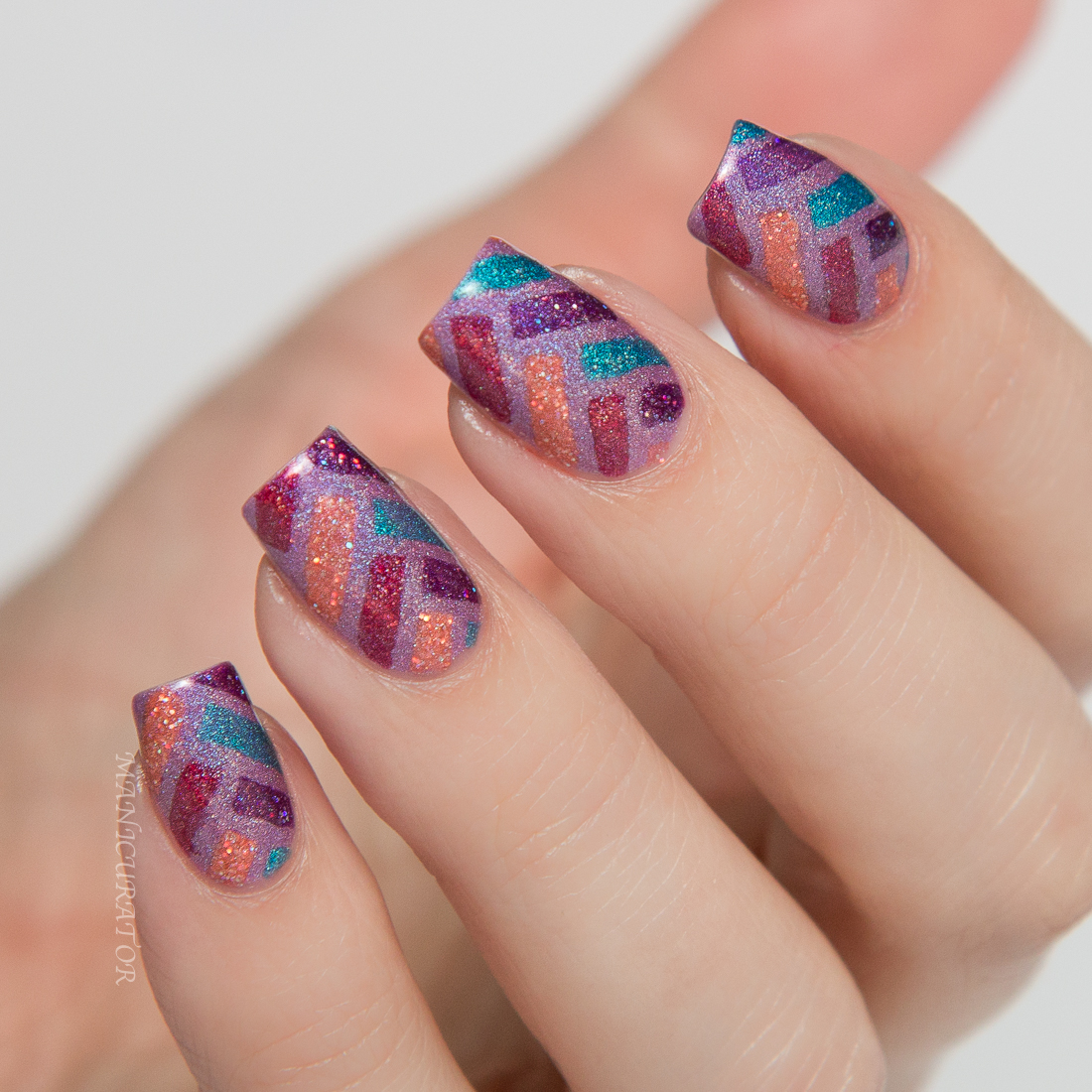 Glam-Whoosh-Pop-Smash-Krunch-Zoom-Herringbone-Nail