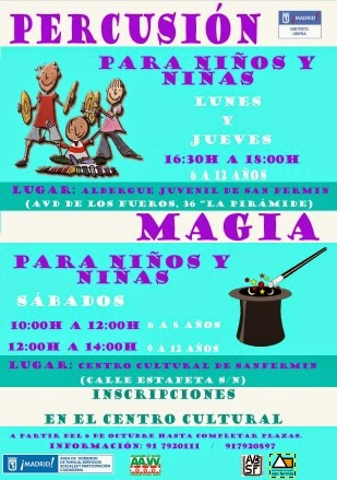 AAVV San Fermín - Taller de Magia