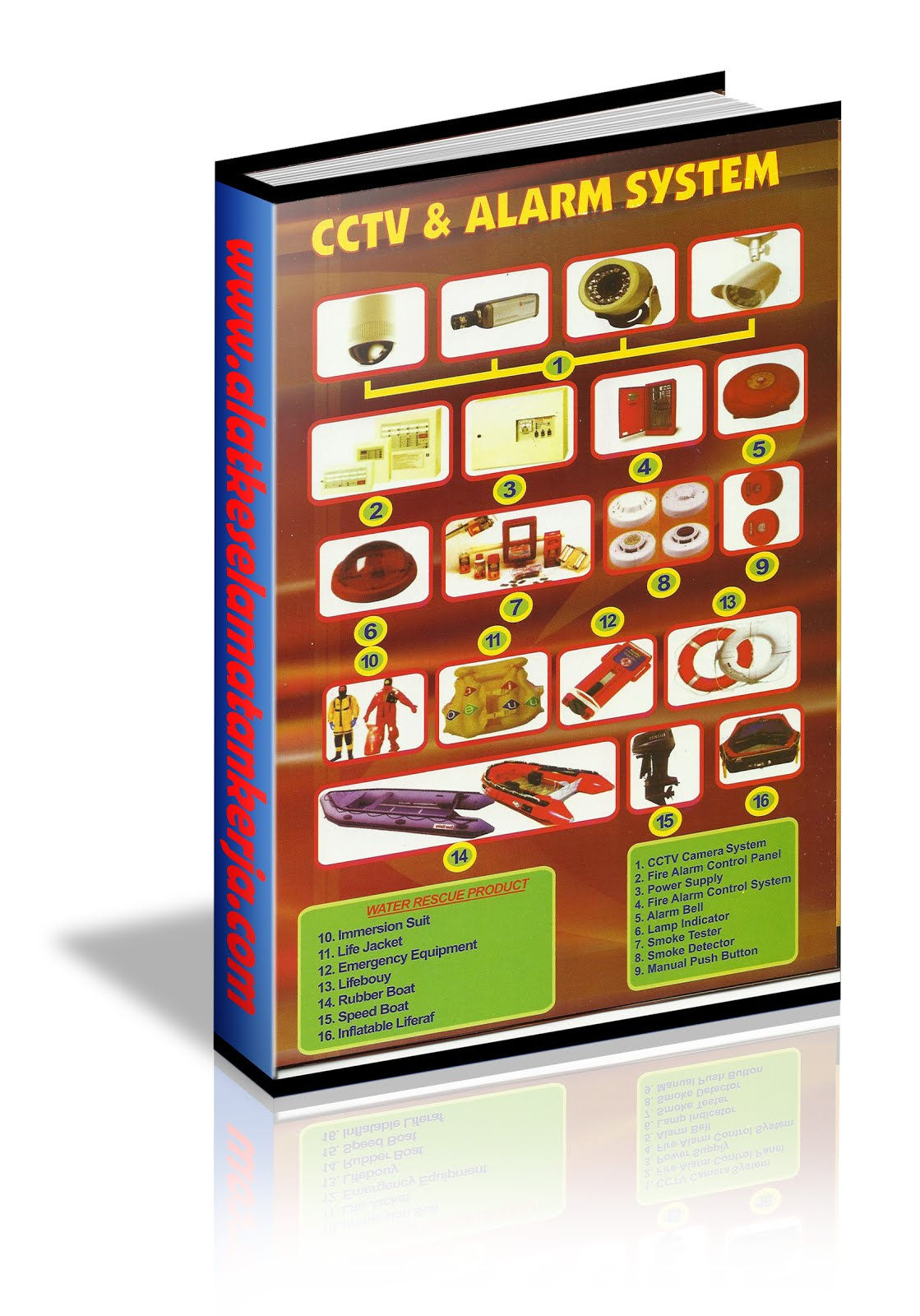 CCTV & FIRE ALARM SYSTEM AND RESCUE PRODUCT