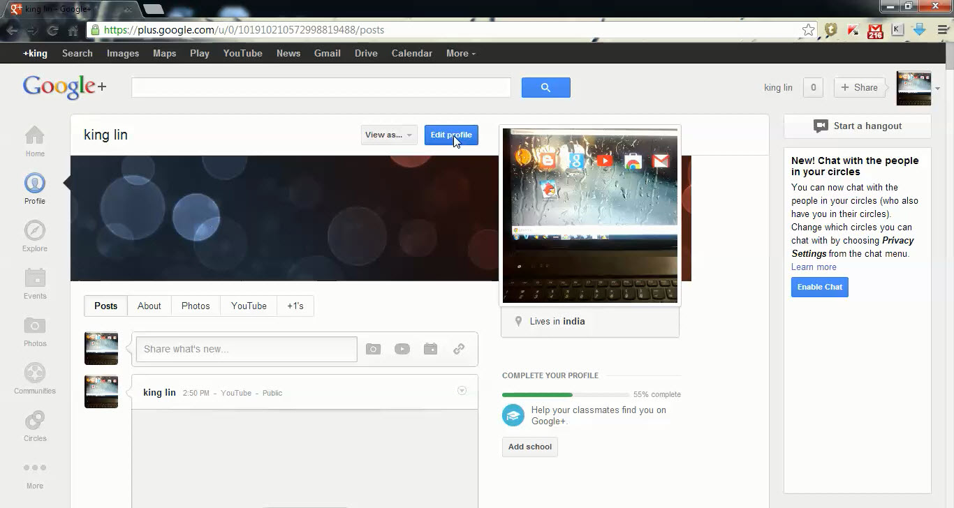 How to change your youtube url 2013