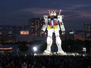 Estatua Gigante Gundam