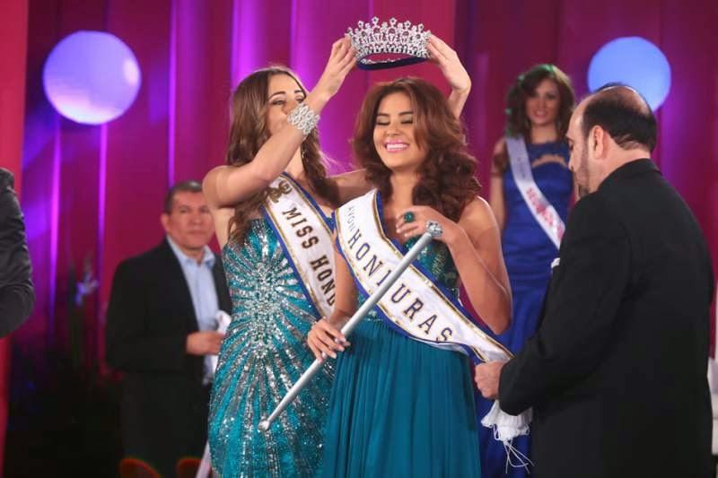 Miss Senorita Honduras 2014 winner Maria Jose Alvarado