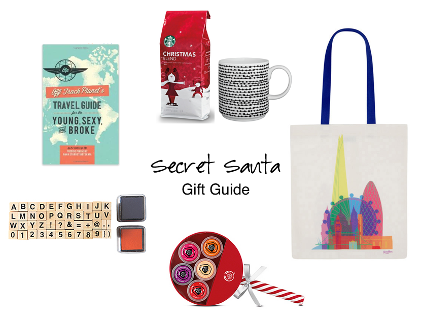 Secret Santa Gift Guide Under 10 Pounds