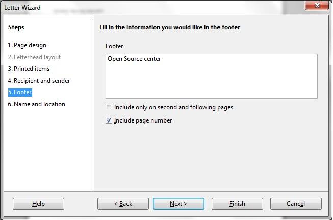 Membuat Kop Surat di LibreOffice