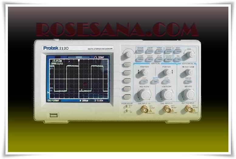 Pro Tek Oscilloscope : R hardware electronics protek mhz digital
