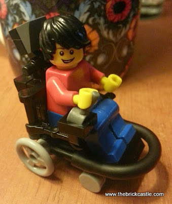 Prototype 2 LEGO Electric Wheelchair Footballer