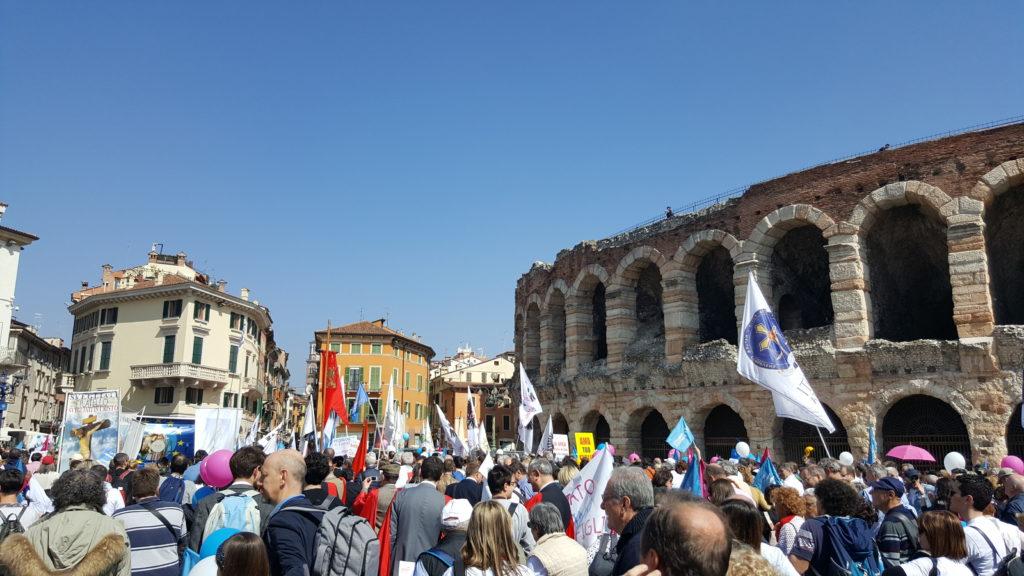 Verona, Itália - 31 de março de 2019