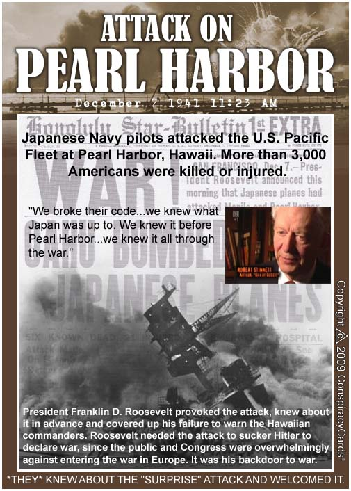 pearl harbor conspiracy Conspiraciesnet was launched in 1999 offering credible as well as incredible info on all conspiracies theories that the world  pearl harbor conspiracy theory:.