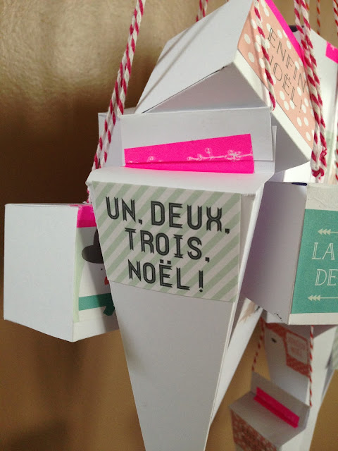 Calendrier de l'avent DIY - Advent Calendar homemade