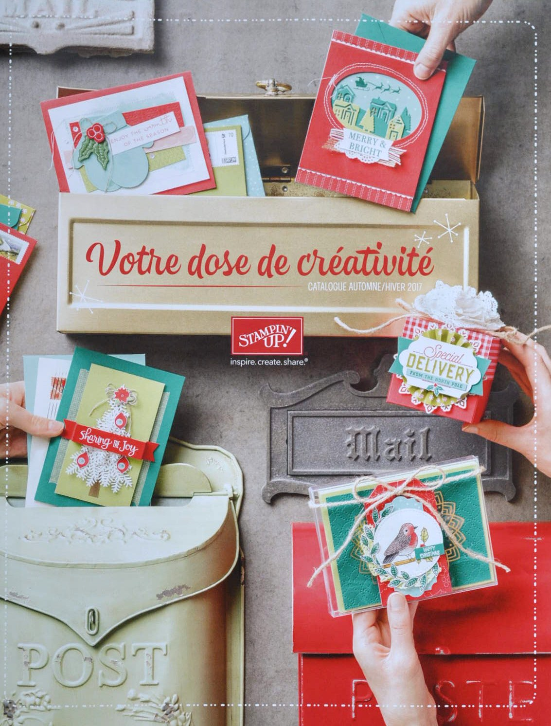CATALOGUE STAMPIN'UP! AUTOMNE-HIVER 2017-2018