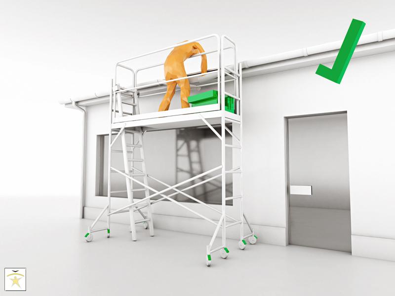 Barandas para trabajo en alturas requerimientos for Barandas de seguridad