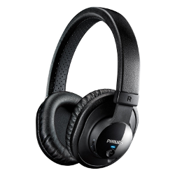 Philips SHB7150FB/27 Wireless Bluetooth Headphones with Microphone