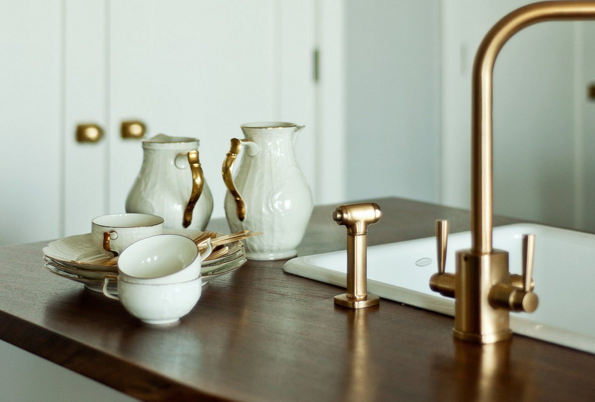 Virginia B Interior Design Brass Is Back
