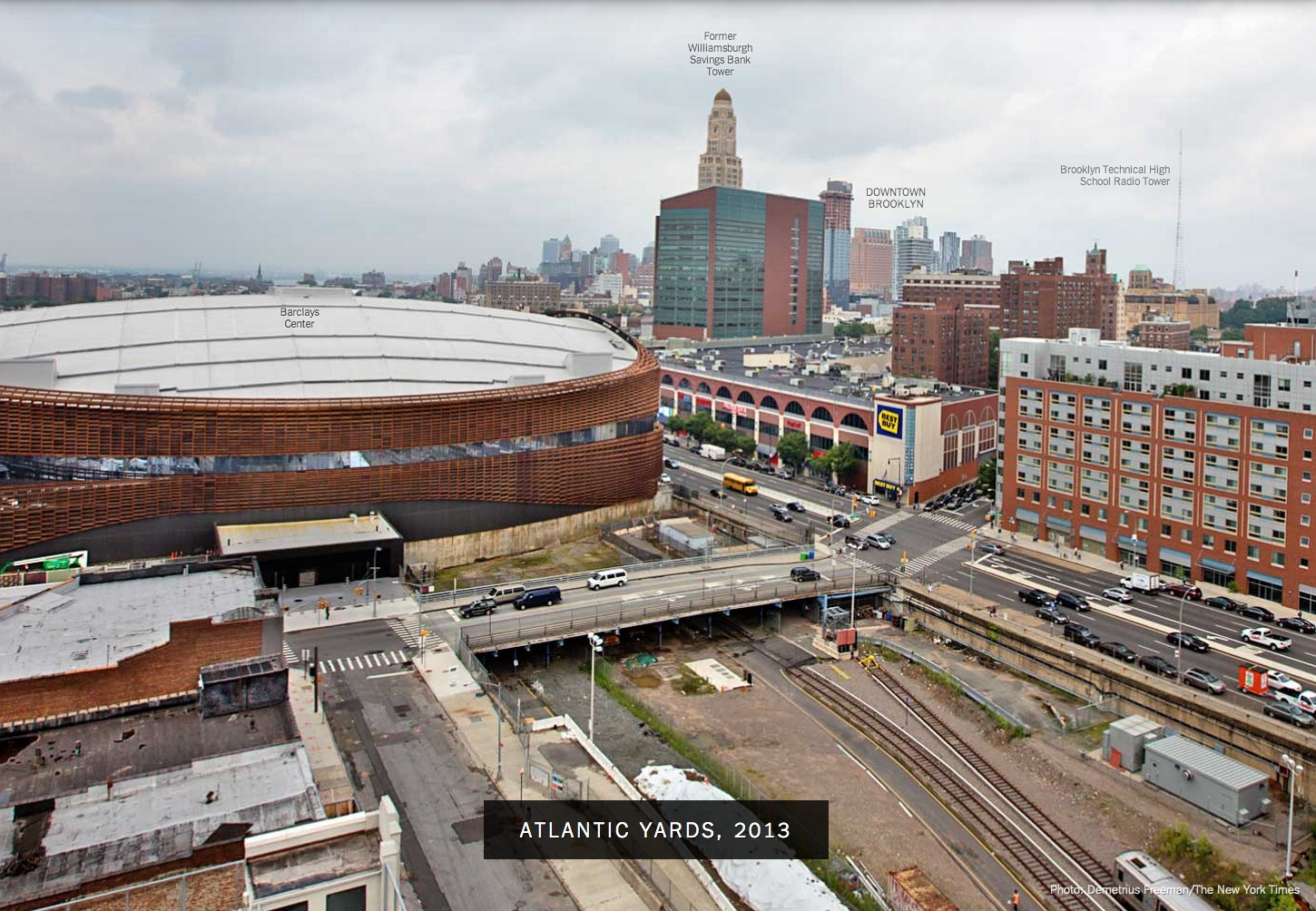 Bloomberg 39 S City Before And After Of Barclays Center
