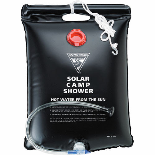 Top Solar Powered Gadgets and Gifts - Solar Camping Shower (20) 2