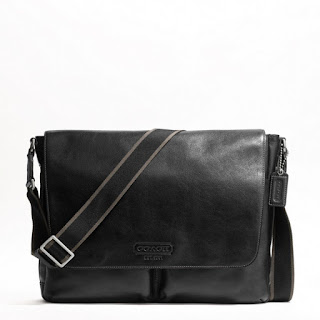 Enter Coach Heritage Web Leather Messenger Giveaway, Ending 8/15