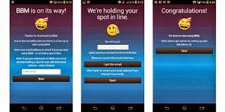 bbm,lintas platform,android,ios,chat