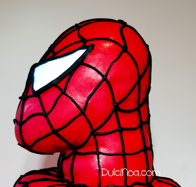 Tarta Spiderman 3D