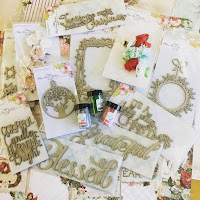 Blue Fern Studio Vintage Christmas