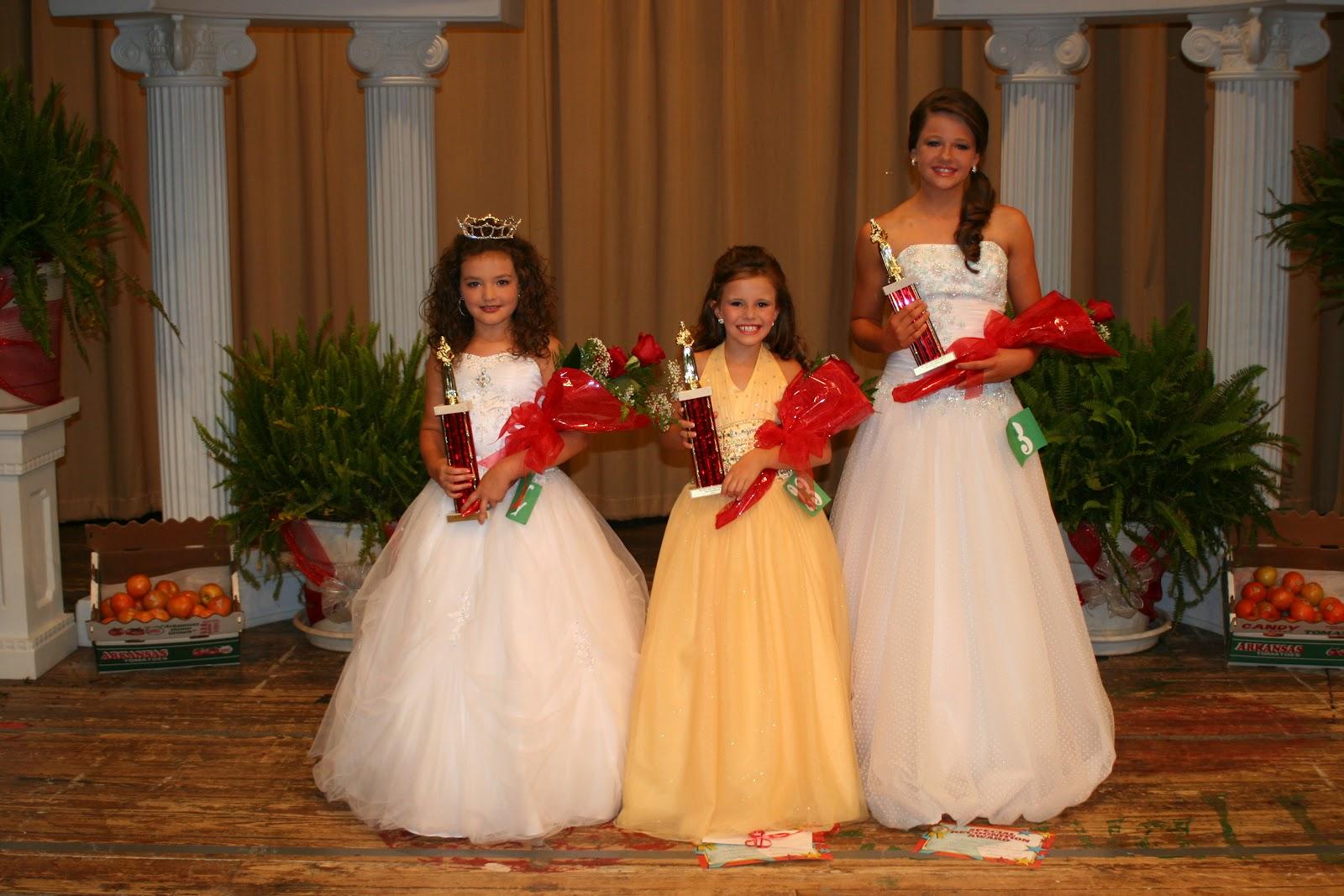 Saline River Chronicle News: Hermitage Girls Sweep Pageants
