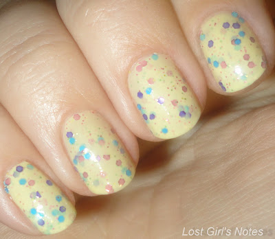 candeo colors jellybean swatches and review