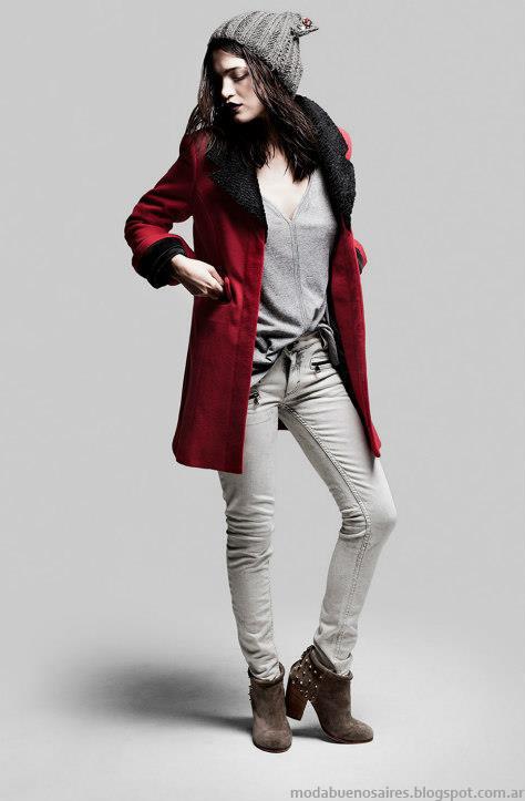 Tapados invierno 2013 Ginebra moda.