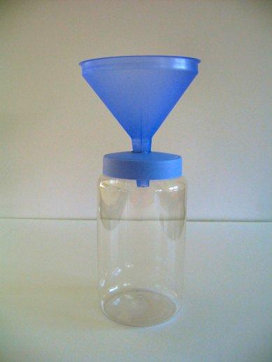 Docencia materiales pluviometro - Como fabricar un pluviometro ...