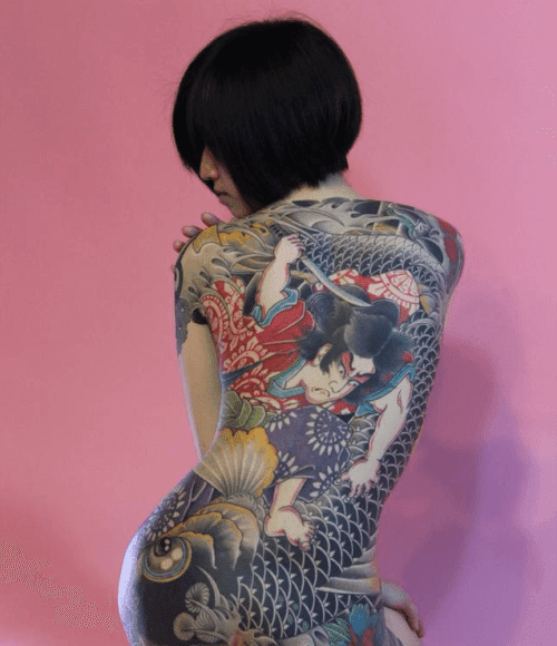 Beautiful Tattoo Of Japanese Women