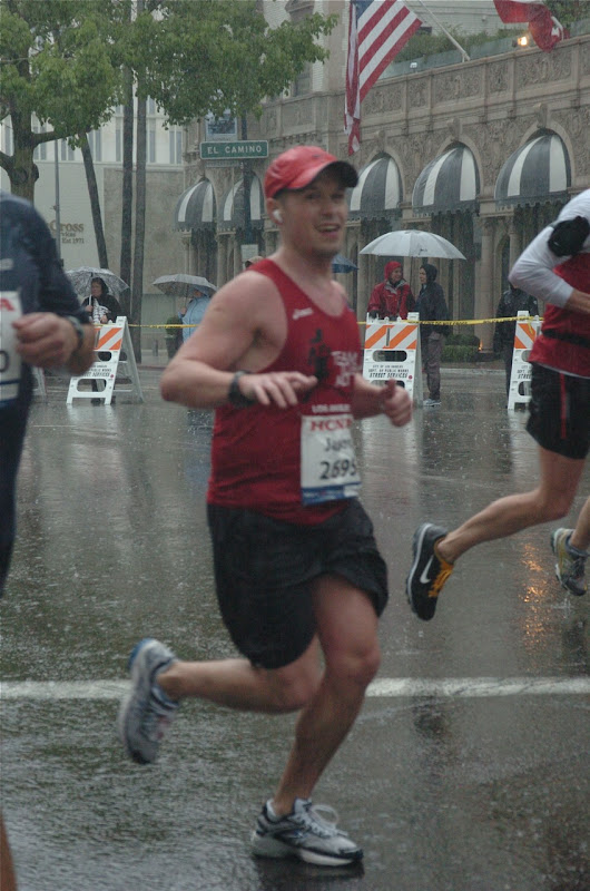 LA Marathon 2011 Wilshire Boulevard