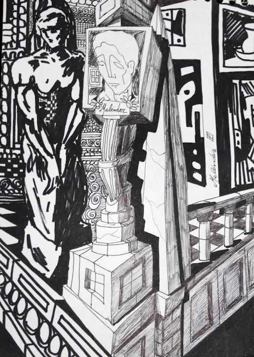 La estatua de la esquina 10-10-96