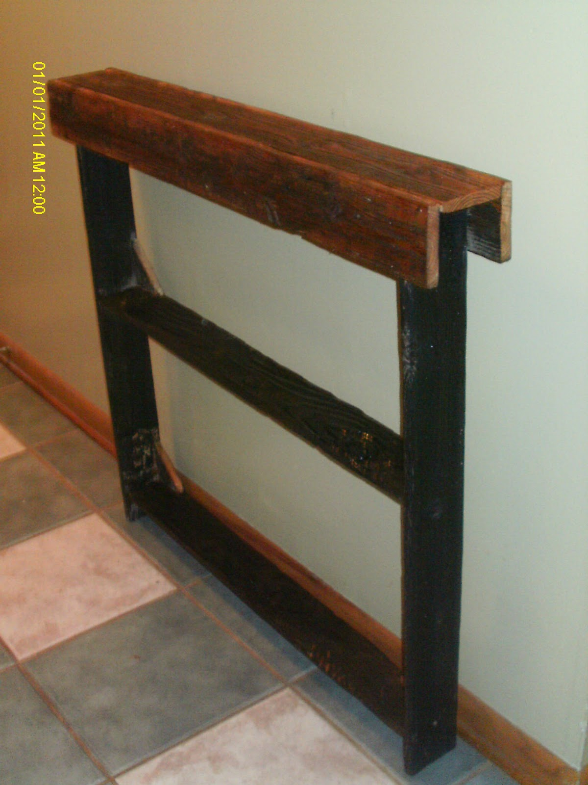 Handmade Rustic Log Furniture Reclaimed Barnwood Entry Way Tables Dining Tables Rustic