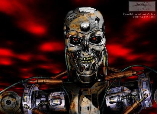 Terminator T-800 HK por cyberraxx
